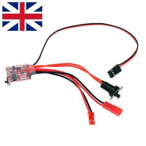 20A Mini Brushed ESC Electronic Speed Controller For RC Car Truck Boat UK Seller