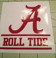 Alabama Roll Tide Decal For Your Yeti Rambler Tumbler, Colster