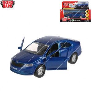 Tehnopark Diecast Vehicles Skoda Rapid Russian Toy Cars 12 cm
