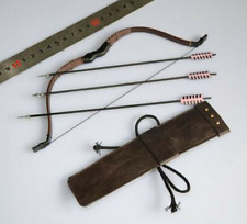 """1/6 Scale Soldier Ancient Weapon Accessories Bow+Arrow Model F 12"""" Action Figure"""