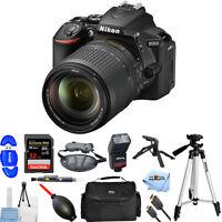Nikon D5600 DSLR Camera with 18-140mm Lens!! PRO BUNDLE BRAND NEW!!