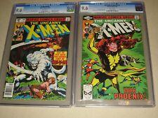 UNCANNY X-MEN #135 DARK PHOENIX & 140 ALL CGC (9.6) MARVEL COMIC 1980