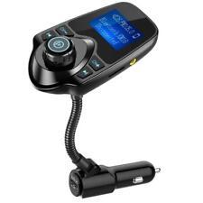 Nulaxy Bluetooth FM Transmitter Wireless HandsFree Car Kit - FREE Expedited Ship