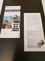 VfS Flyer Zertifikat für 10 Euro Silber Gedenkmünzen pP 2003 Industr. Ruhrgebiet