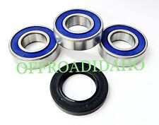 REAR AXLE WHEEL BEARING SEAL KIT SUZUKI M109R BOULEVARD 06 07 08 09 10 11 12 13