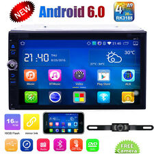 """Android 6.0 WIFI 4G 7"""" Double 2 DIN Car Radio Stereo DVD Player GPS Navi+Camera"""