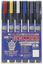 New Gundam Marker Paint Pen AMS109 Seed Basic Set  6 Markers Japan f/s