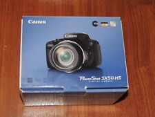 NEW in Open Box - Canon PowerShot SX50 HS 12.1 MP Camera - BLACK - 013803157192