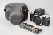 Nikon F2 35mm SLR Film Camera Body Only, Silver