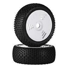 2x 1:8 RC Truggy  Car Tire Wheel Rim for HONGNOR VP-PRO ZDRacing HPI