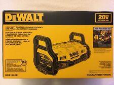 New Dewalt DCB1800B 1800 Watt Portable Power Station 20V/60V Charger 3600W Peak