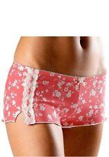 Nuance 2x Panty mit Schleife und Zierband NEU/OVP coral-print + creme 44/46