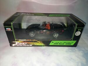 The Fast And The Furious 2000 Honda S2000 1:18 Joyride Rcertl Diecast Model...