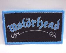 motorhead over kill WOVEN PATCH