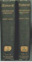 Bismarck by Moritz Busch.  1898.  Complete in 2 Vol. Rare Antique Book! $