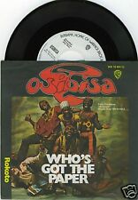 "OSIBISA Who's Got The Paper 7""-Single/PROMO"