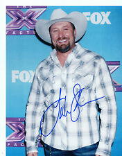 TATE STEVENS    X-FACTOR  COUNTRY  SINGER   SMILING   SIGNED  8X10  PHOTO