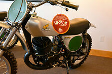 1973 1974 Honda Elsinore CR 250 Dealer Hang Tag Vintage Motocross Ahrma