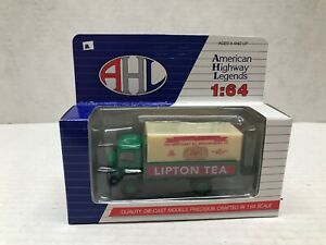 HARTOY AMERICAN HIGHWAY LEGENDS 1/64 SCALE LIPTON TEA GMC T-70 TRUCK