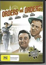ORDERS ARE ORDERS - Long Lost Comedy Classics (DVD) B/W