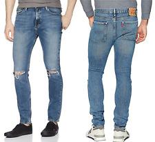 Levis 510 Skinny Fit Stretch Mens Jeans DISTRESSED 33x32 W33/L32 #055100794