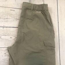 Columbia Women's XS Olive Green Nylon Convertible Outdoor Hiking Pants
