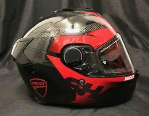 10% OFF Shark SPARTAN GT Shestter CARBON with DUCATI Stickers Motorbike Helmet