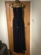 BNWT Juicy Couture Micro Terry Maxi Dress Regal Blue X Large
