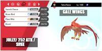 6IV ULTRA Shiny TALONFLAME BATTLE READY Pokemon Sword and Shield