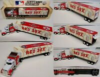 2001 Boston Red Sox Truck Trailer Metal Die cast Collectibles Scale 1:80