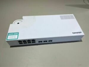 QNAP QSW-308S 10GbE Switch with 10G SFP+ fiber and Gigabit Ethernet