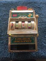Vintage Japan Automatic Jackpot Mini Real Slot Machine