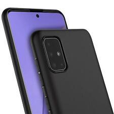 Handy Cover Samsung Hülle Schutzhülle Slim Case Silikon Handytasche S20 A51 S10