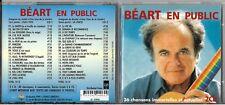 DOUBLE CD GUY BEART EN PUBLIC 36 CHANSONS IMMORTELLES ET ACTUELLES DE 1999