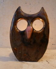 Quirky Owl Ceramic Candle Holder Night Light Holder Hand Made