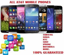At&t Unlocking all At&t phones Samsung, Nokia, Htc, Iphone, Motorola and More