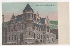 Canada, Post Office, Nelson B.C. Postcard, B150