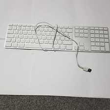 Genuine USB Apple keyboard used one