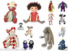 BESPOKE 6 X Pattern Bundle, Your Choice of Any 6 Soft Toy Fabric Sewing PATTERNS
