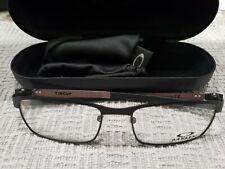 OAKLEY Titanium TINCUP OX3184-0152 Eyeglass frames Powder Coal Black 52 17 135