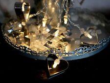 Acción 10er Cadena De Luces LED Con Moldes Hornos Funcionamiento Batería 1,35 M