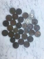 LOTTO 30 MONETE ITALIANE REGNO COINS