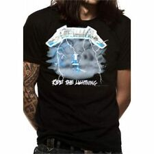 Cotton Solid Basic Tees Metallica T-Shirts for Men