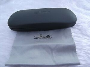 Used - Silhouette grey glasses / sunglasses case & cloth - proceeds to charity
