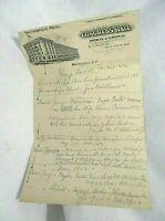 Washington DC Congress Hall Hotel Vintage/Antique Letterhead Paper The Complete