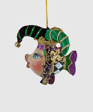 Jester Kissing Fish Ornament - Mardi Gras - Katherine's Collection 28-828131