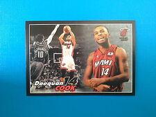 2009-10 Panini NBA Basketball n.140 Daequan Cook Miami Heat