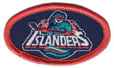 "1995-97 NEW YORK ISLANDERS NHL HOCKEY 2.5"" FISHERMAN TEAM LOGO OVAL PATCH"