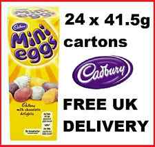 24 x 41.5g Cadbury Mini Eggs carton Easter Xmas party gift famous bulk chocolate