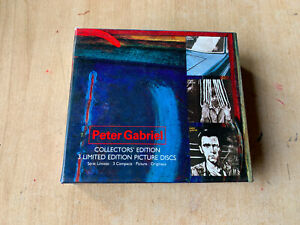 coffret 3 CD Peter Gabriel - Collector's Edition / 3 limited edition